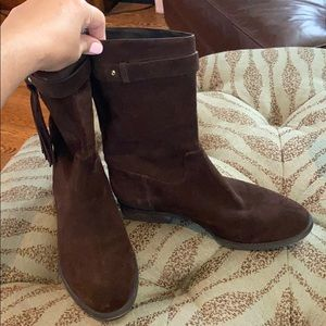 Michael Kors size 9.5 brown suede boots!